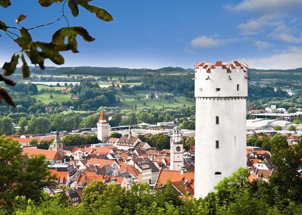 Blick über Ravensburg                            Bild: Stadt Ravensburg